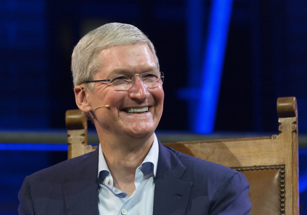 AMSTERDAM, NETHERLANDS - MAY 24: Apple CEO Tim Cook attends the kick-off of Startup Fest Europe on May 24, 2016 in Amsterdam, The Netherlands. The event facilitates match-making between investors and startup entrepreneurs from all over the world. (Photo by Michel Porro/Getty Images)