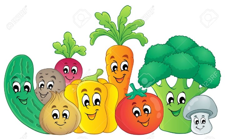20458392-Vegetables-theme-image-Stock-Vector-cartoon-food-vegetable