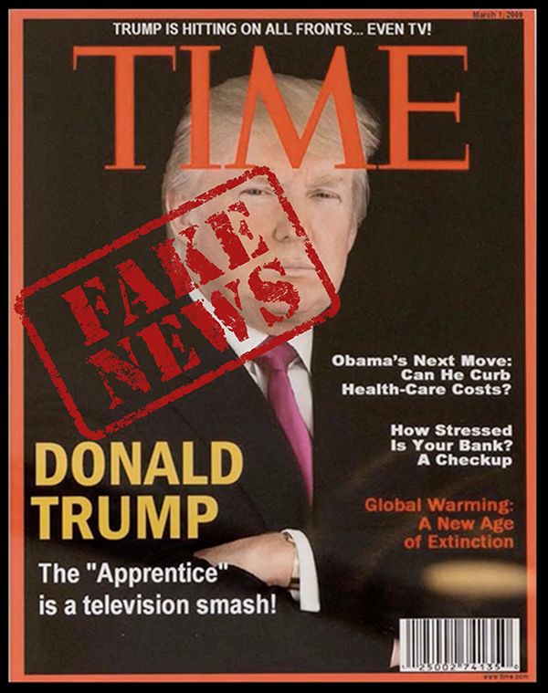 trump time fake