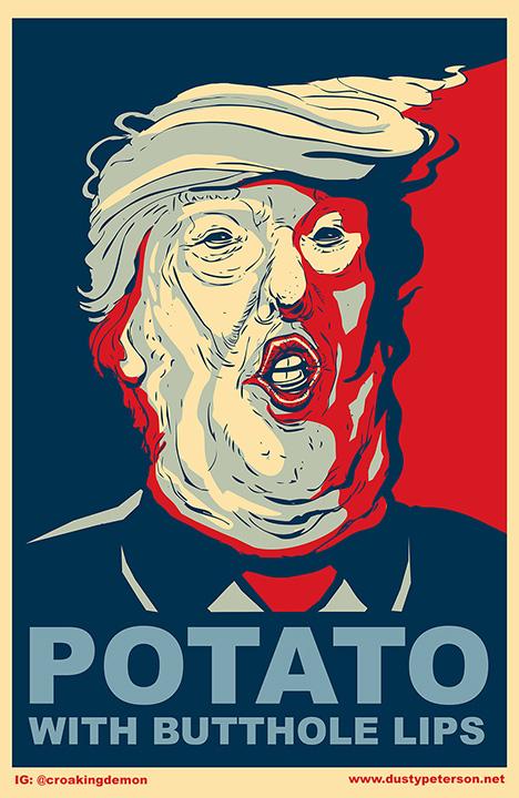 trump potato