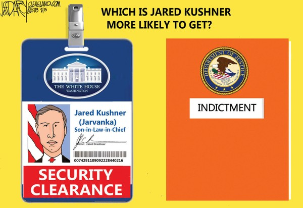 kushner sec clear or indictment