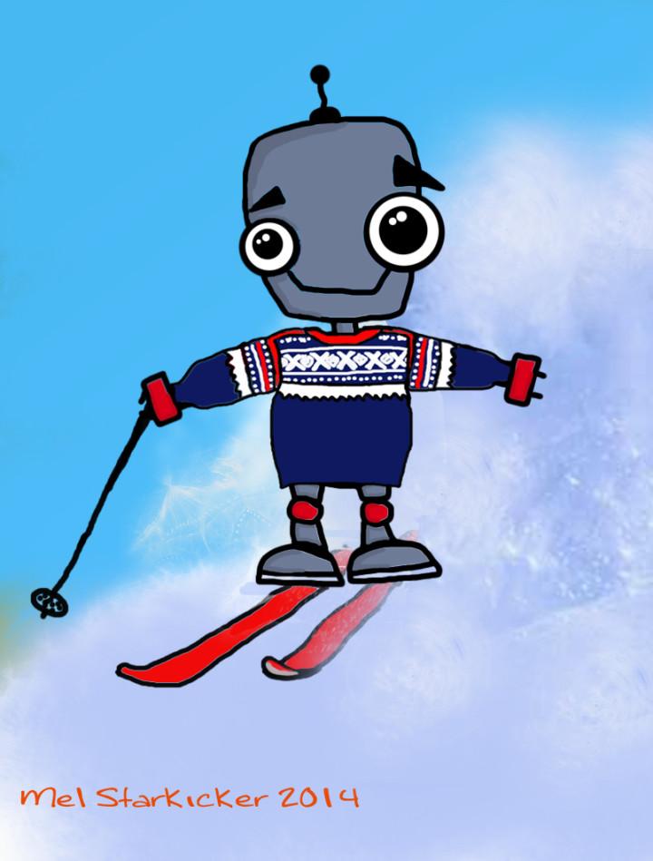 skiing-robot