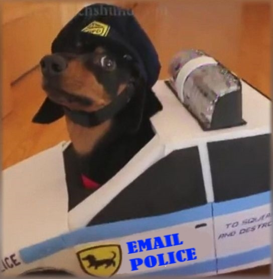 email police dog
