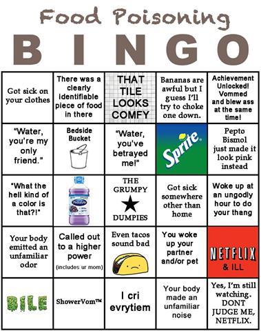 food poisioning bingo (Small)