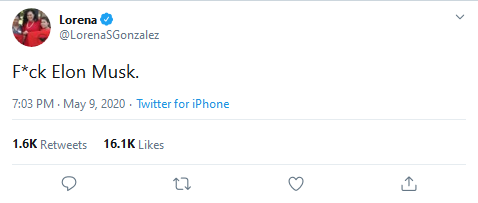 Lorena on Twitter F ck Elon Musk Twitter